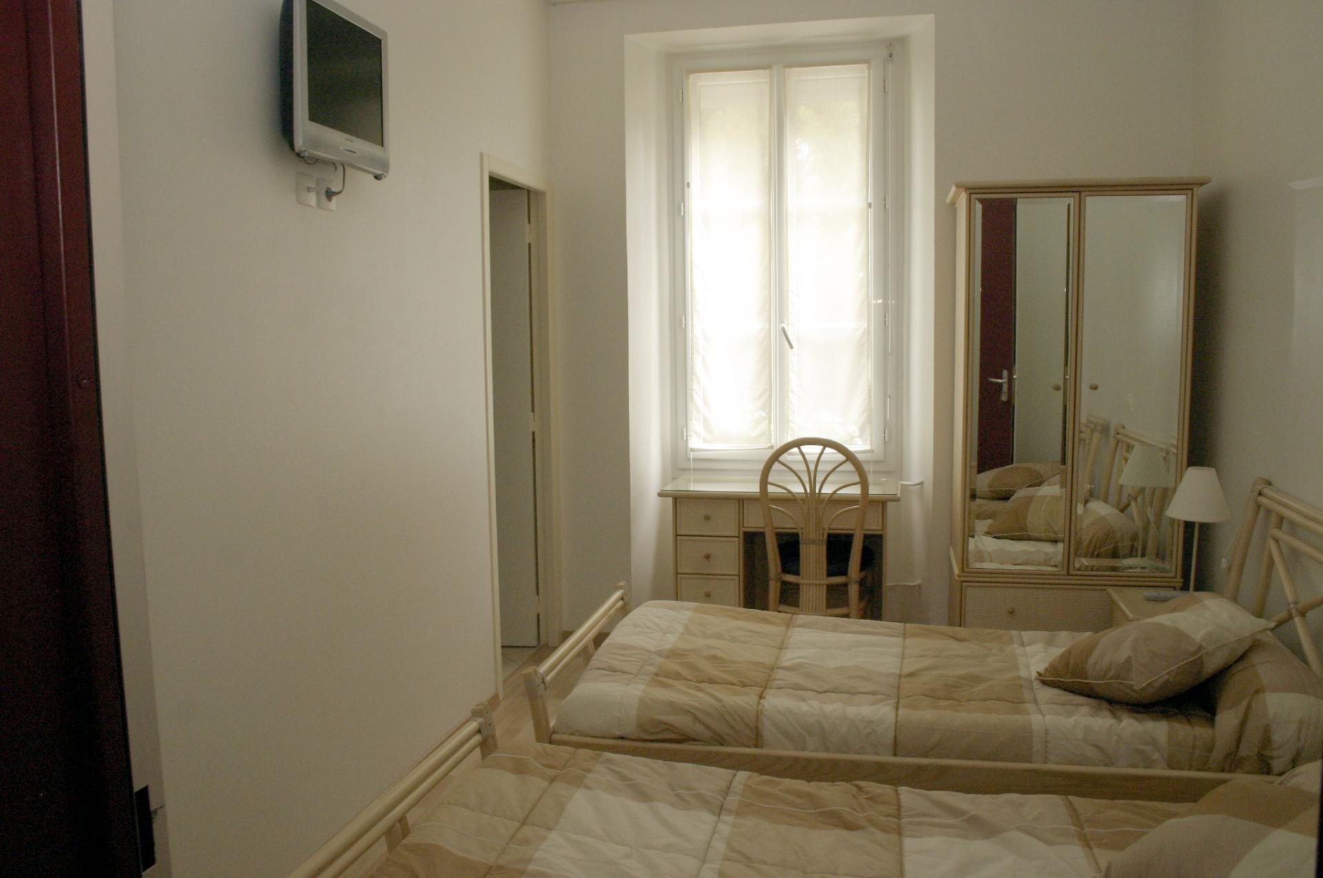 Chambre Mérignac à 2 lits