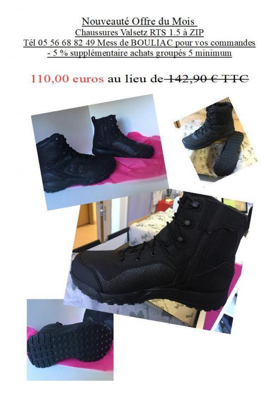 Promo chaussure valsetz rts